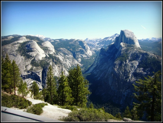 Glacier Point Yosemite Park California CA