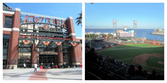AT&T Park San Francisco SF Giants California CA