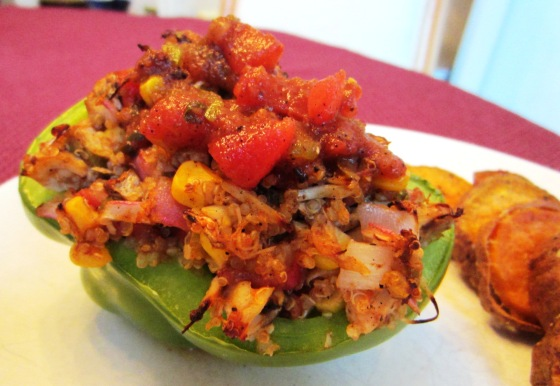 Mexican Stuffed Pepper Barr & Table