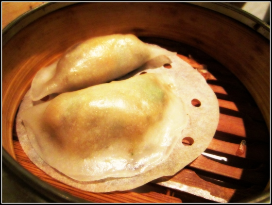 Chicken Mushroom Steamed Dumplings Dim Sum Yank Sing San Francisco California SF CA