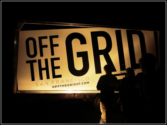Off the Grid Food Truck Gathering Fort Mason San Francisco California SF CA