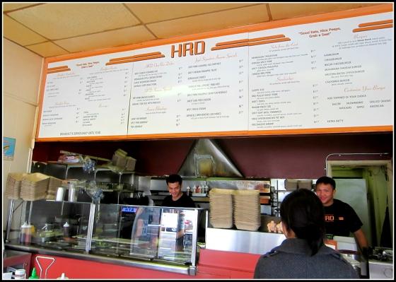 HRD Coffee Shop San Francisco California