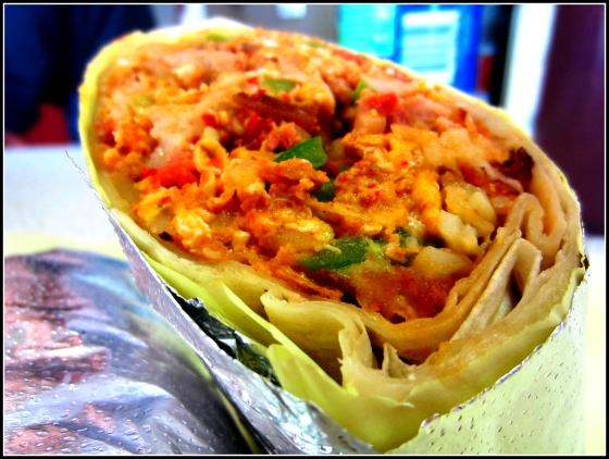 HRD Coffee Shop Chinese BBQ Pork Breakfast Burrito