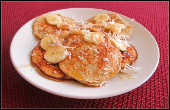 Barr & Table Zucchini Bread Protein Pancakes