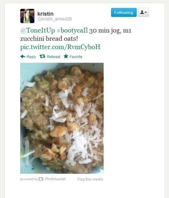 Zucchini Bread Oats Twitter Tweet