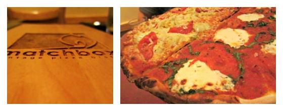 Matchbox Pizza Washington DC Barr & Table Oven Dried Tomato Fresh Mozzarella Roasted Garlic Artichokes Pecorino Romano