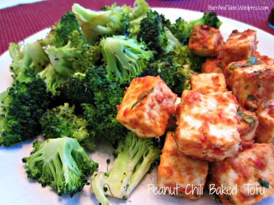 Barr & Table Peanut Chili Baked Tofu