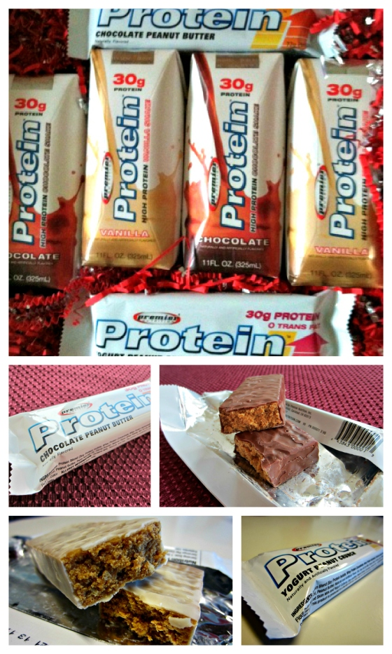 Premier Protein Chocolate Vanilla Shake Chocolate Peanut Butter Double Chocolate Crunch Yogurt Peanut Crunch Barr & Table Giveaway