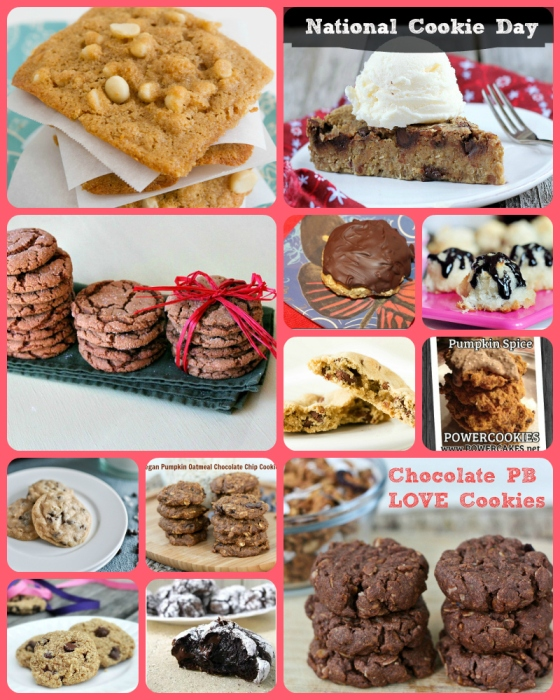 National Cookie Day Chocolate Chip White Macadamia Ginger Coconut Pumpkin Oatmeal