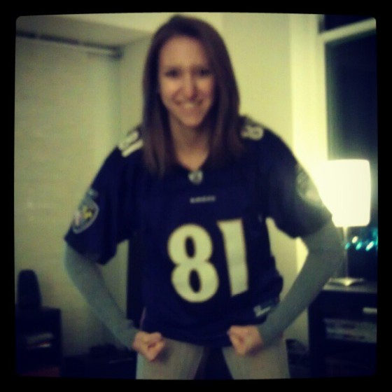 Baltimore Ravens Football Maryland MD Anquan Boldin Superbowl Harbowl