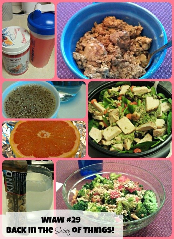 Barr & Table Tone It Up TIU 5 Day Slim Down 5DSD Peas and Crayons What I Ate Wednesday WIAW Tina Reale Best Body Bootcamp Powercakes Powerbowl Fitmixer Amino Carrots N Cake KIND Snacks