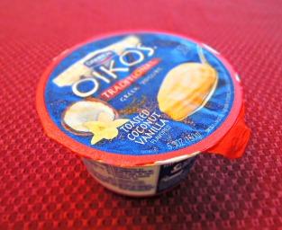 Dannon Oikos Traditional Greek Yogurt Toasted Coconut Vanilla