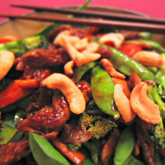 Mongolian Beef Stir Fry Vegetables Cashews
