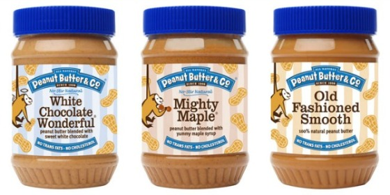 Peanut Butter Co White Chocolate Wonderful Mighty Maple Old Fashioned Smooth