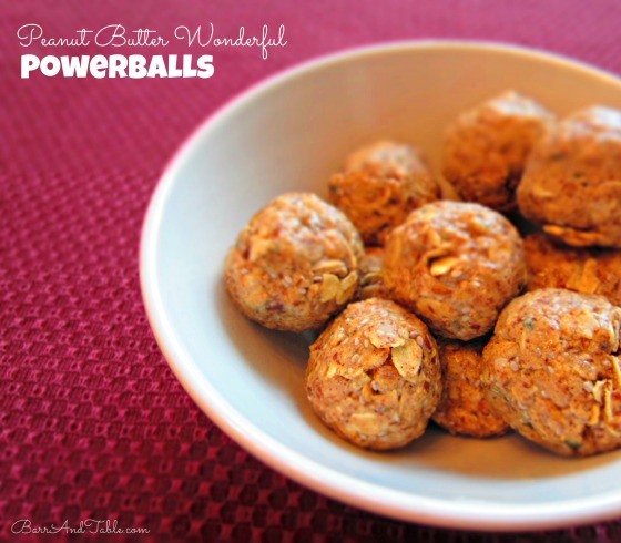 Peanut Butter Co White Chocolate Wonderful Powerballs Perfect Fit Protein Coconut Flax Chia Hemp Barr & Table
