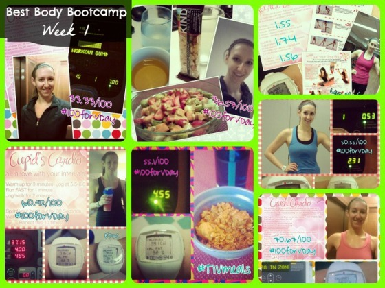 Tina Reale Best Body Bootcamp Week 1 Tone It Up TIU Love Your Body Challenge