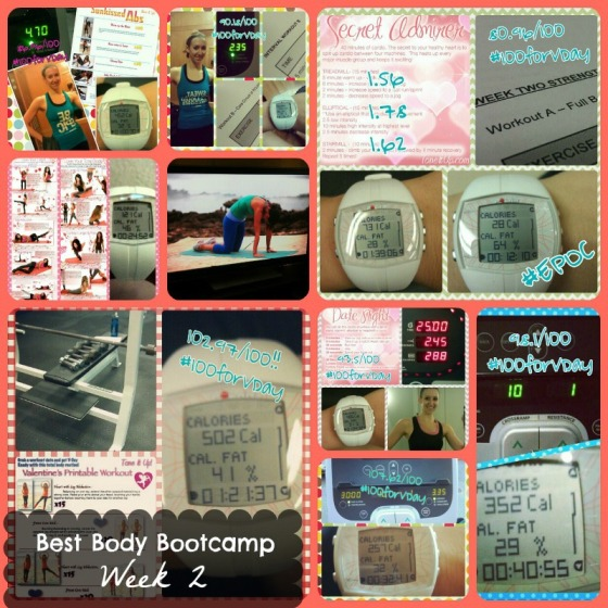 Tina Reale Best Body Bootcamp Week 2 Tone It Up TIU Love Your Body Challenge VSX