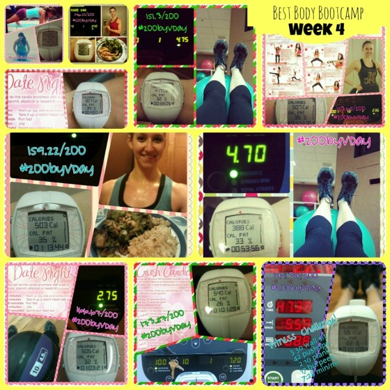 Best Body Bootcamp Week 4 Tina Reale Fitness Challenge Tone It Up TIU Love Your Body Challenge Barr & Table