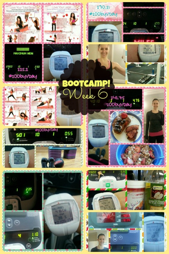 Tina Reale Best Body Bootcamp Week 6 Tone It Up TIU Love Your Body Challenge