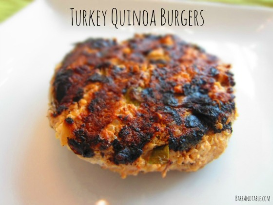 Turkey Quinoa Burgers | Barr & Table