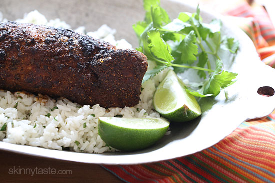 Mexican Adobo Rubbed Grilled Pork Tenderloin Skinnytaste