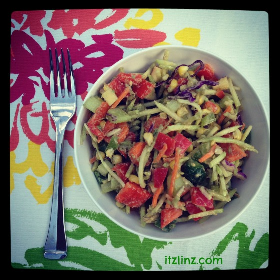 Itz Linz Rainbow Salad