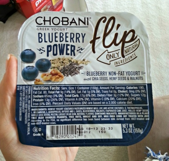 Chobani Blueberry Power Flip