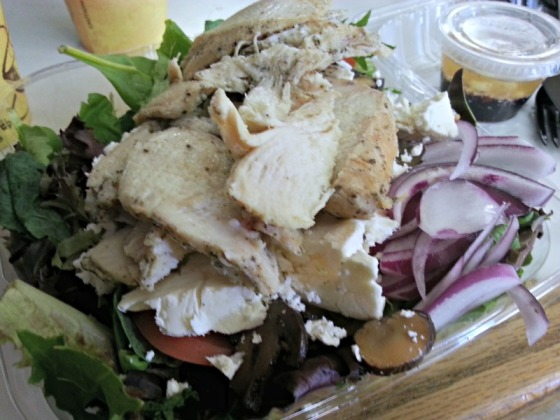 Isabellas Little Italy Baltimore Maryland MD Greek Salad Grilled Chicken Homemade Feta