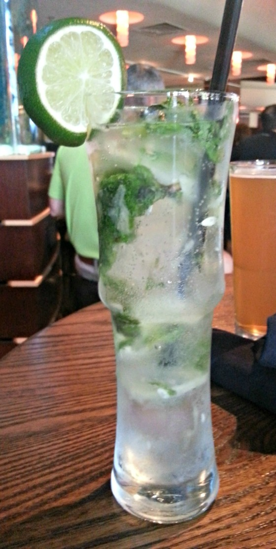 Kona Grill Effen Cucumber Mojito Baltimore Maryland MD