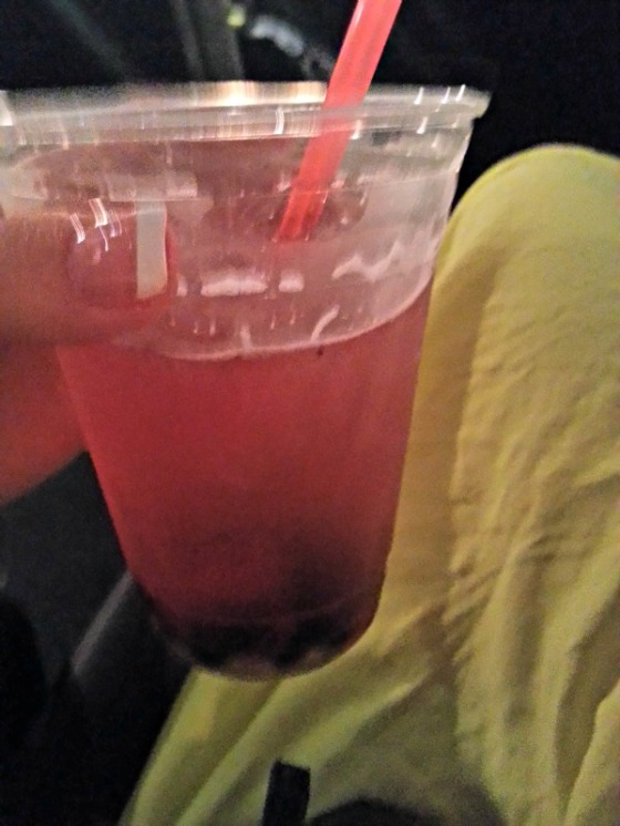 Landmark Theaters St Germain White Cranberry Soda Berries