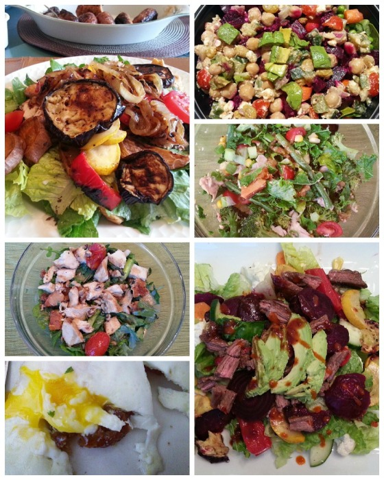 Salads Eggs Benedict Vegetarian Sausage