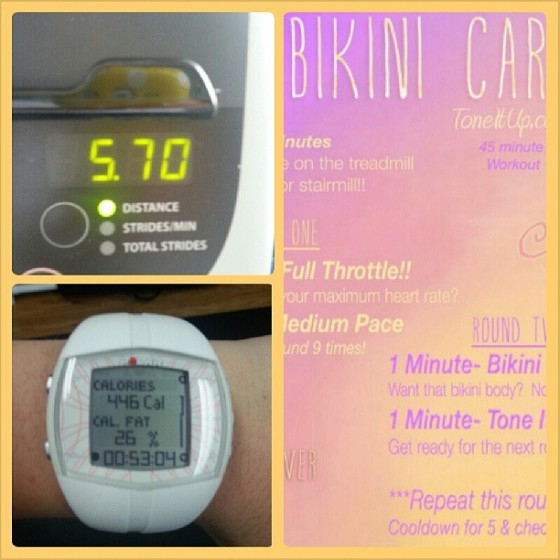 Tone It Up TIU Bikini Cardio