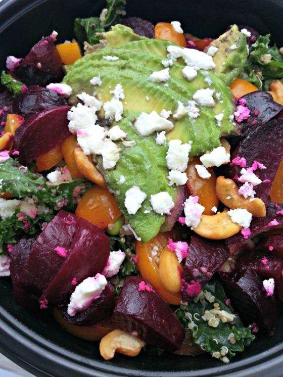 Ambitious Kitchen Kale Edamame Quinoa Salad