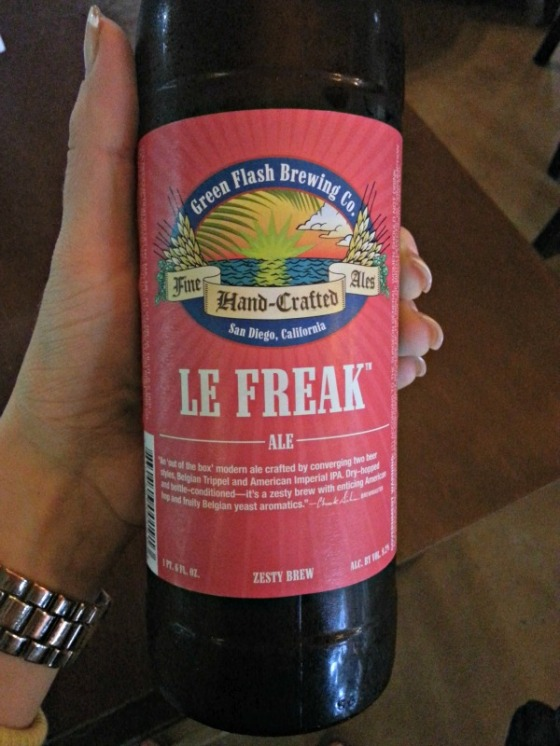 Green Flash Brewing Co Le Freak Ale
