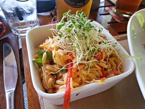 Kimchi Orzo Pasta Salad Tap 42