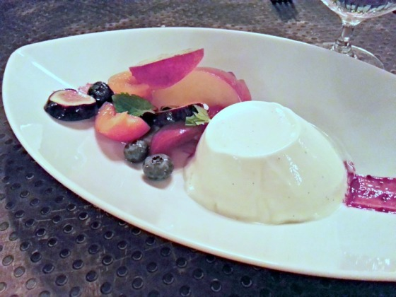 Panna Cotta Fresh Fruit Cinghiale Italian Baltimore Maryland MD