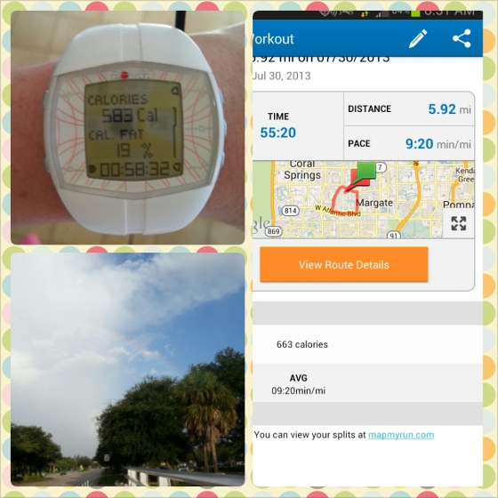 Running Florida FL Workout