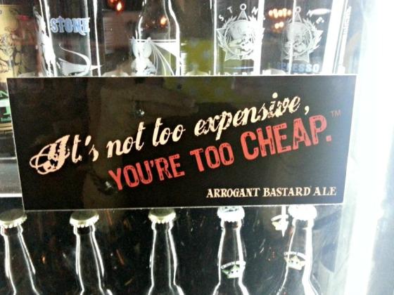 Riverside Market Arrogant Bastard Ale