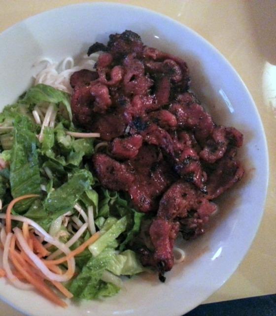 Saigon Cuisine Grilled Pork Vermicelli