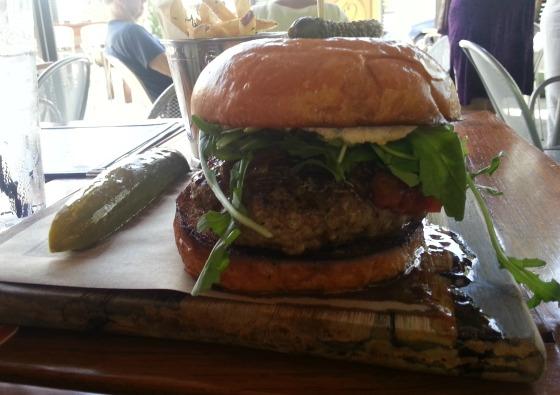 Tap 42 Lamb Burger