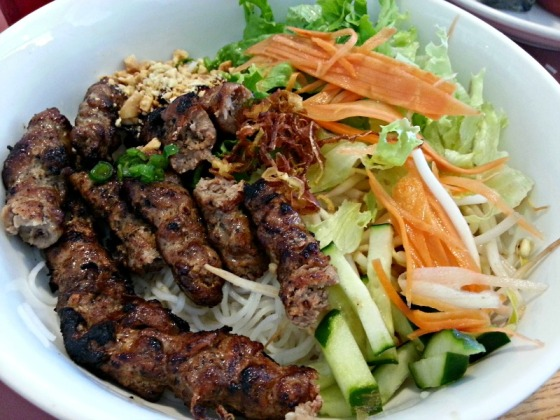 Grilled Pork Vermicelli Bowl