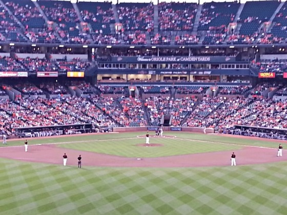 Oriole Park at Camden Yards Baltimore Maryland MD