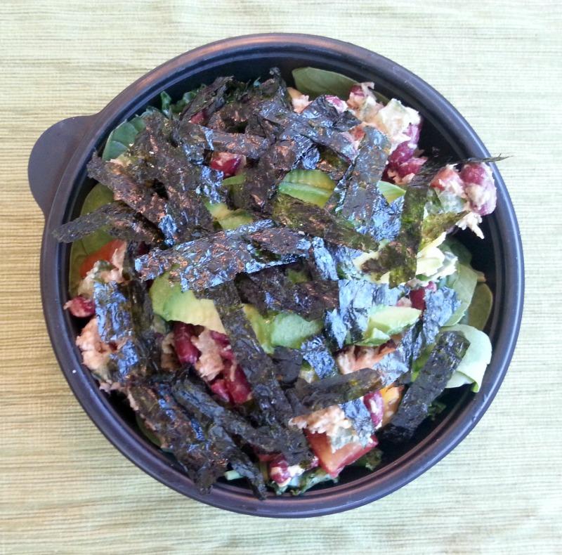 Chick Pea Tuna Chobani Salad Barr & Table