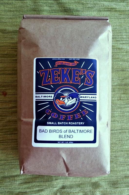 Zekes Coffee Bad Birds of Baltimore Blend