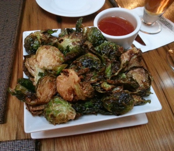 Fried Brussels Sprouts Bagbys Ten Ten Happy Hour Baltimore Maryland MD