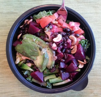 Kale Tomato Black Beans Beets Pepper Avocado Cashews Broccoli