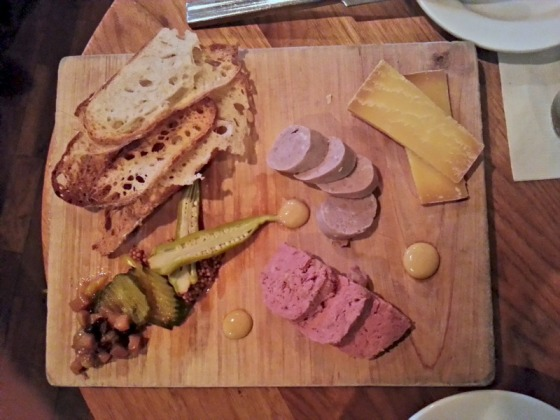 Charcuterie Sausage Rabbit Terrine Bluegrass Tavern Baltimore Maryland MD
