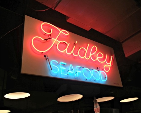 Faidley Seafood Lexington Market Baltimore Maryland MD