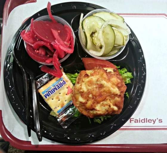 Faidleys Lexington Market Crab Cake