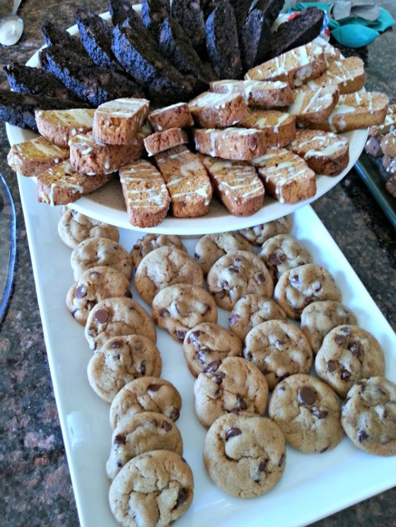 New York Times Chocolate Chip Cookies Biscotti